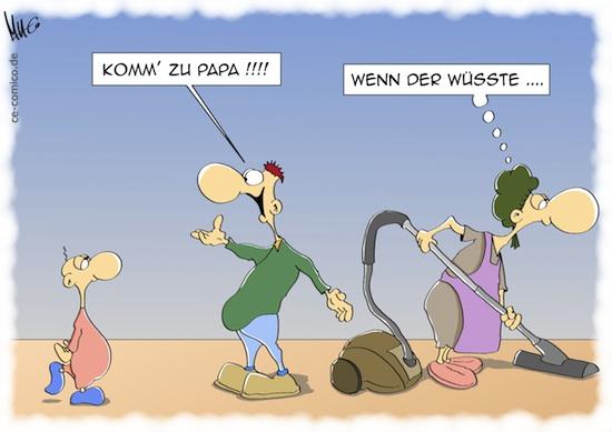 Cartoon bzw. Karikatur von Marcus (Marcus Gottfried)
