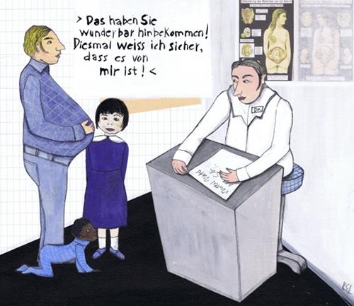 Eine Lösung, untergeschobene Kinder zu vermeiden