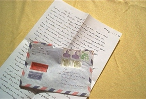 In einem geöffneten Brief schlummerte ein Geheimnis.
