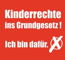 Wahlsymbolbild für die Aufnahme der Kinderrechte ins Grundgesetz.