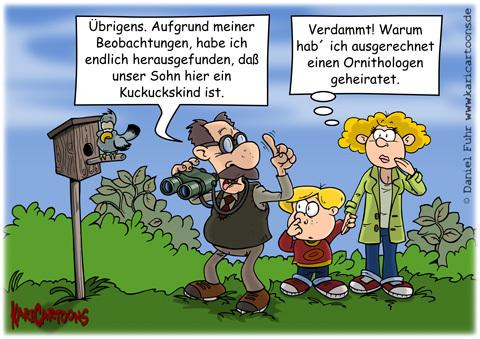 Karikatur von Daniel Fuhr