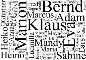 Namen von A-Z