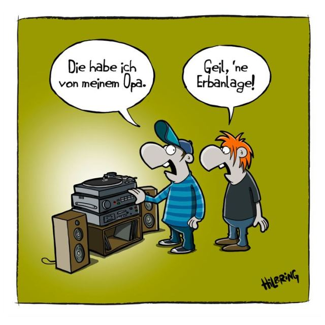 Karikatur von Oliver Hilbring