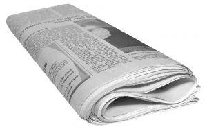 Foto einer Tageszeitung erstellt von Adam Ciesielski