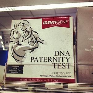 DNA Paternity Test - Vaterschaftstest