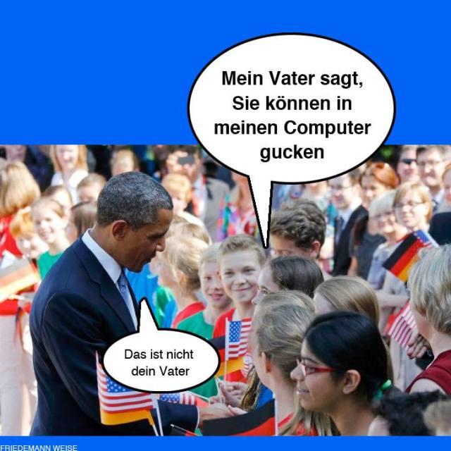 Obamas Besuch in Berlin Juni 2013