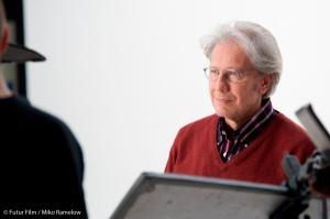 Bernd Herzsprung im Fotostudio - © Futur Film / Foto: Miko Ramelow