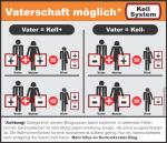 Kell-Faktor-Übersichtstabelle der möglichen Vererbungskombinationen