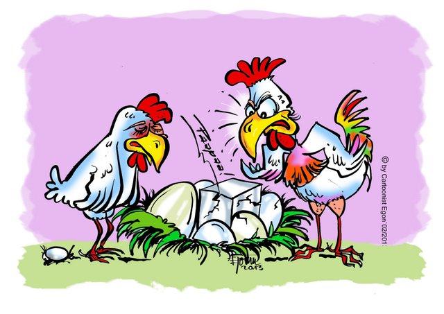 Karikatur von Egon - Schnellzeichner