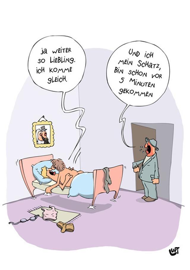Karikaturen zum Thema Sex