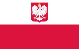 Polnische Staatsflagge