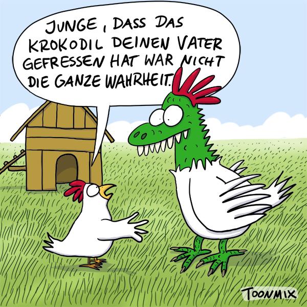 Karikatur von Robert Wagner