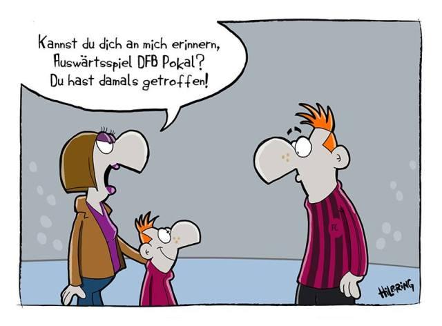 Karikatur von Oli Hilbring