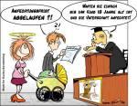 Familienrecht - Karikatur