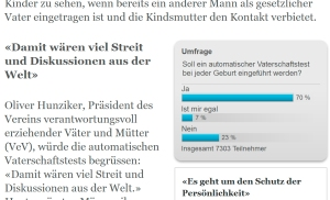 Screenshot - Onlineabstimmung