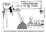 schwarz-weiß-Karikatur