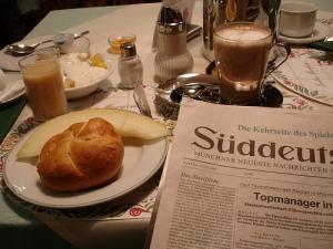 Süddeutsche zum Frühstück