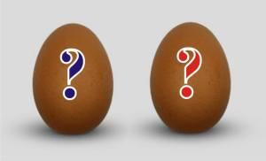 wenn ein Ei dem anderen gleicht
