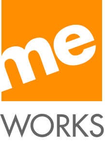 Logo der TV-Produktionsfirma me works TV